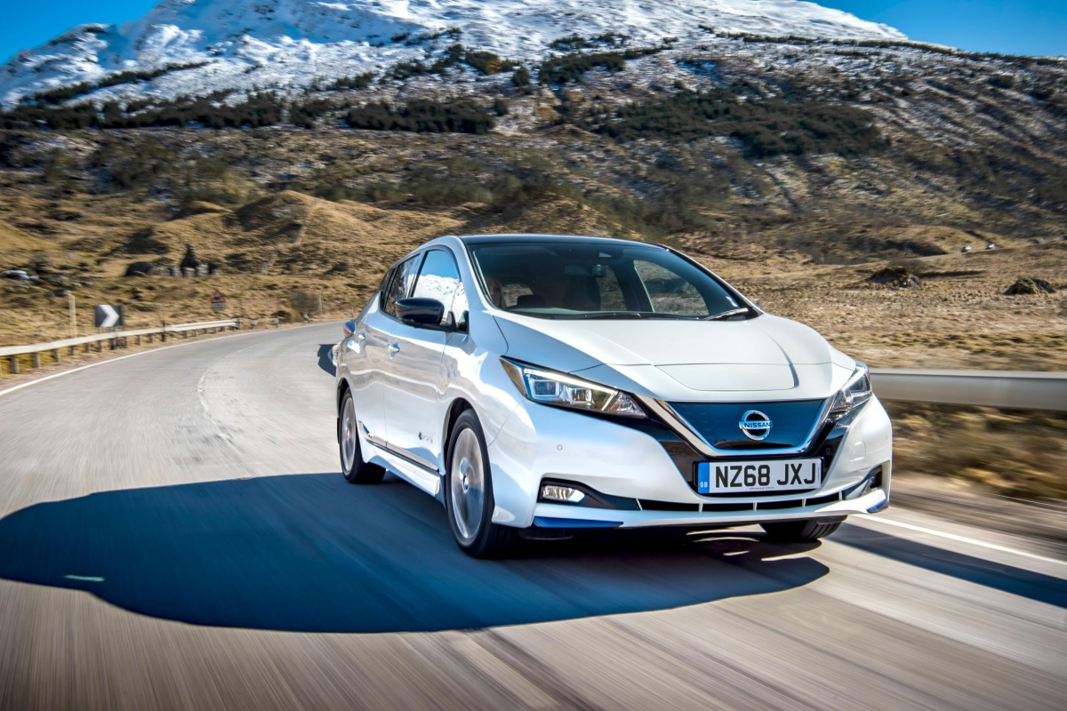 The companies are exploring the use of retired Nissan Leaf batteries