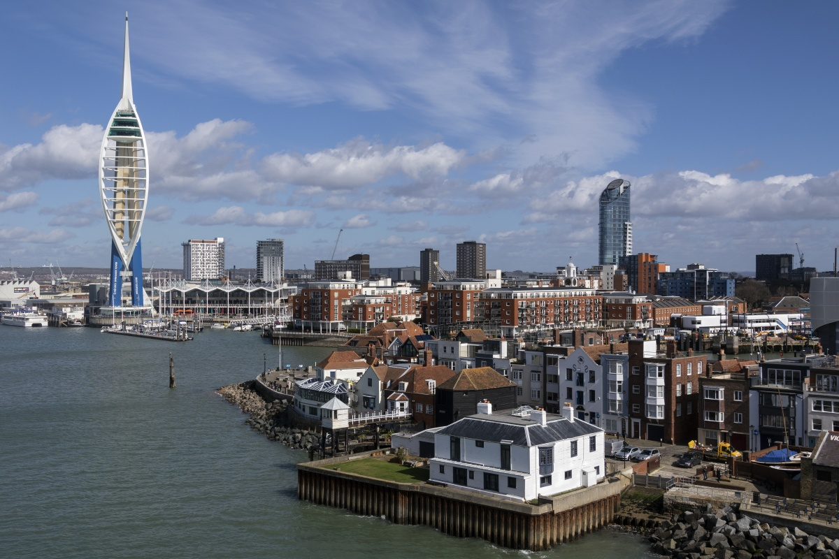Portsmouth on the south coast of England is one of the shortlisted cities