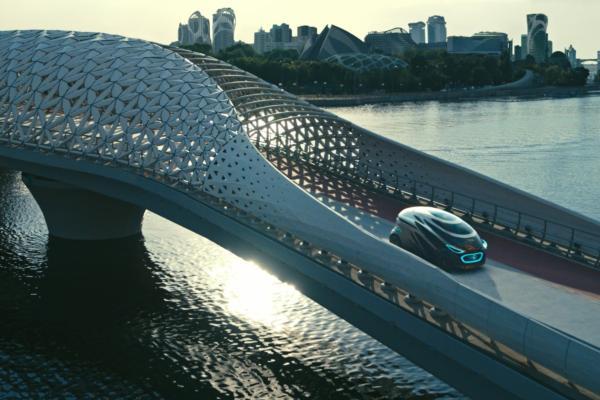 Mercedes-Benz unveils the urban future