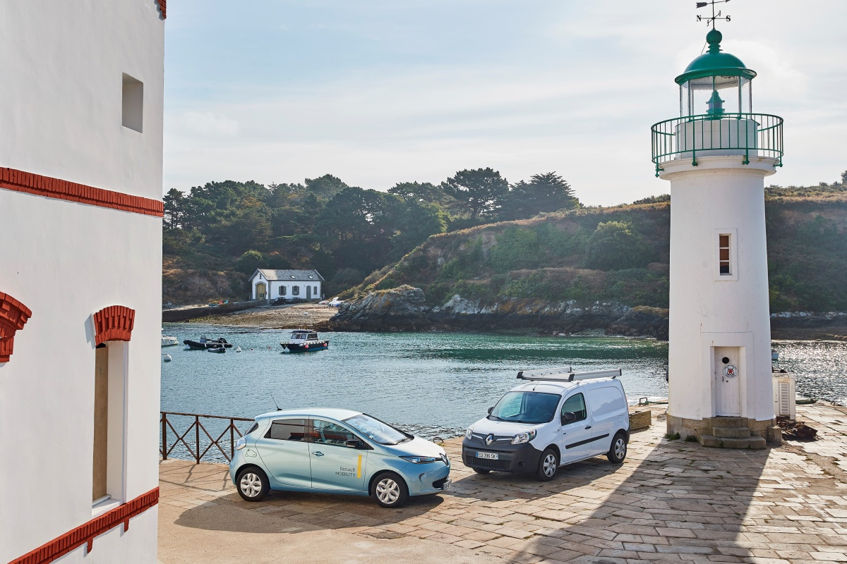 Belle-Île-en-Mer off the southern Brittany coast will have its own electric ecosystem