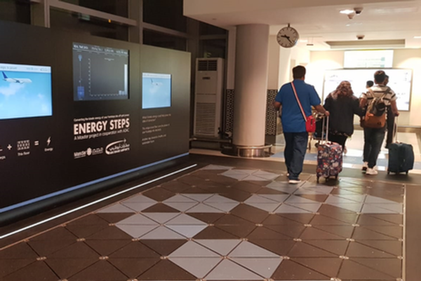 Abu Dhabi airport harvests passenger energy