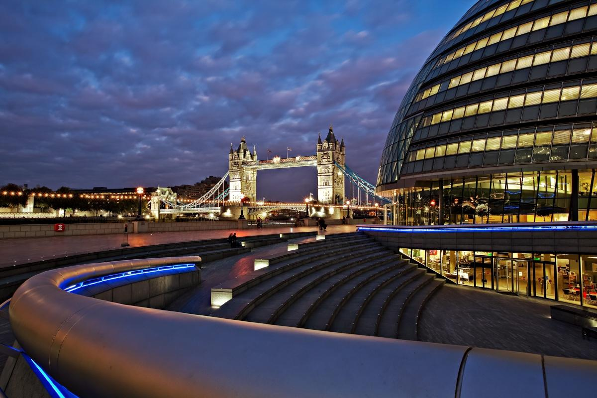 Khan has called for a vision of a digitally powered city where data helps to solve key challenges