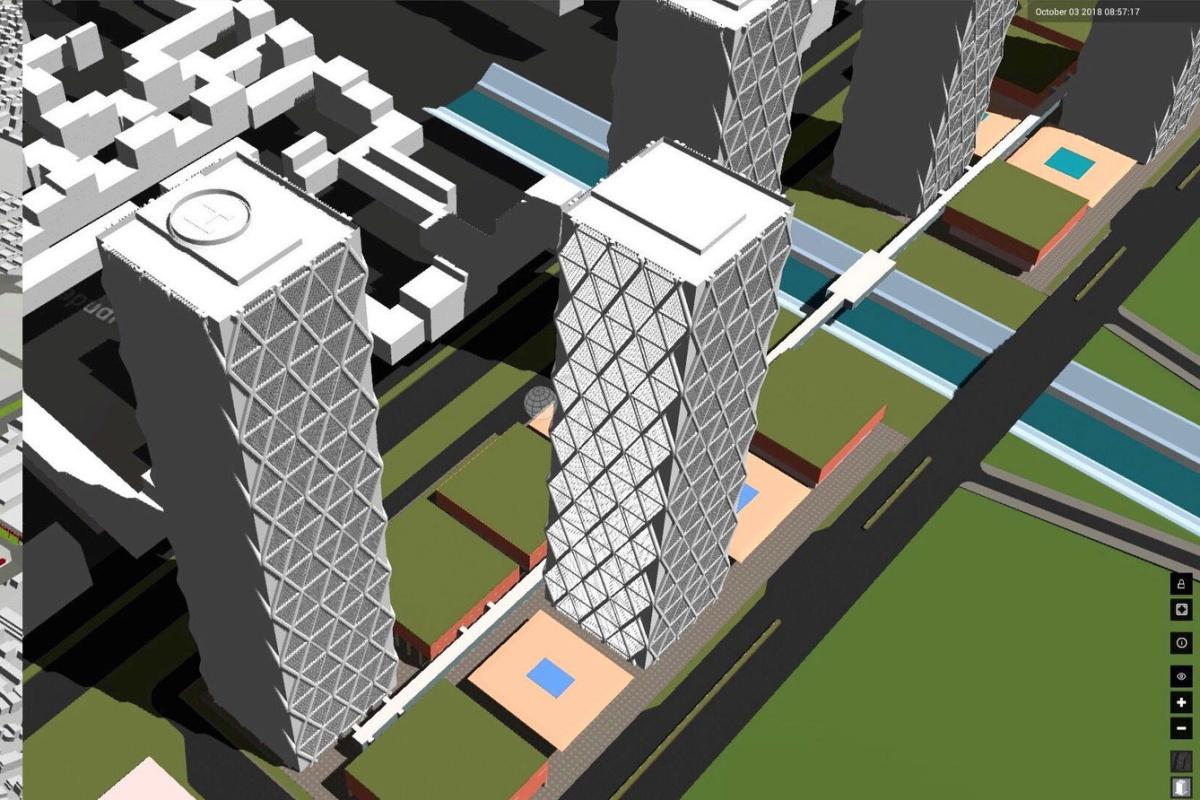Smart World Pro can create a SimCity-like Digital Twin