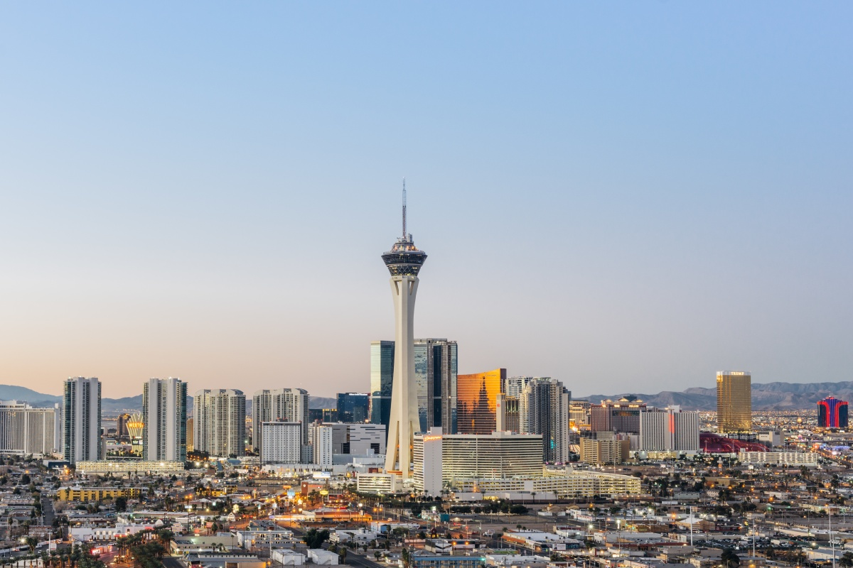 Las Vegas: one of the top digital cities in the US