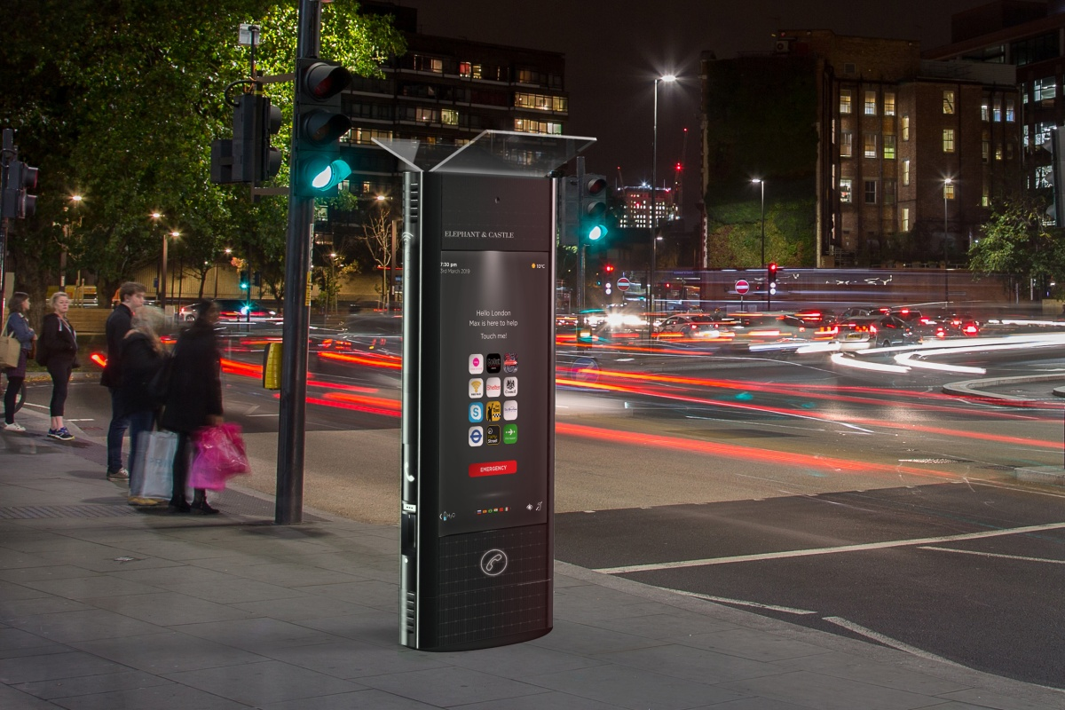 The interactive kiosks will be rolling out across the UK next year