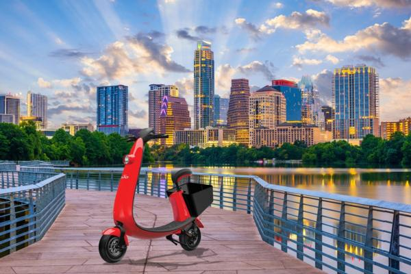 Sit-down scooter ride-share rolls out in Austin