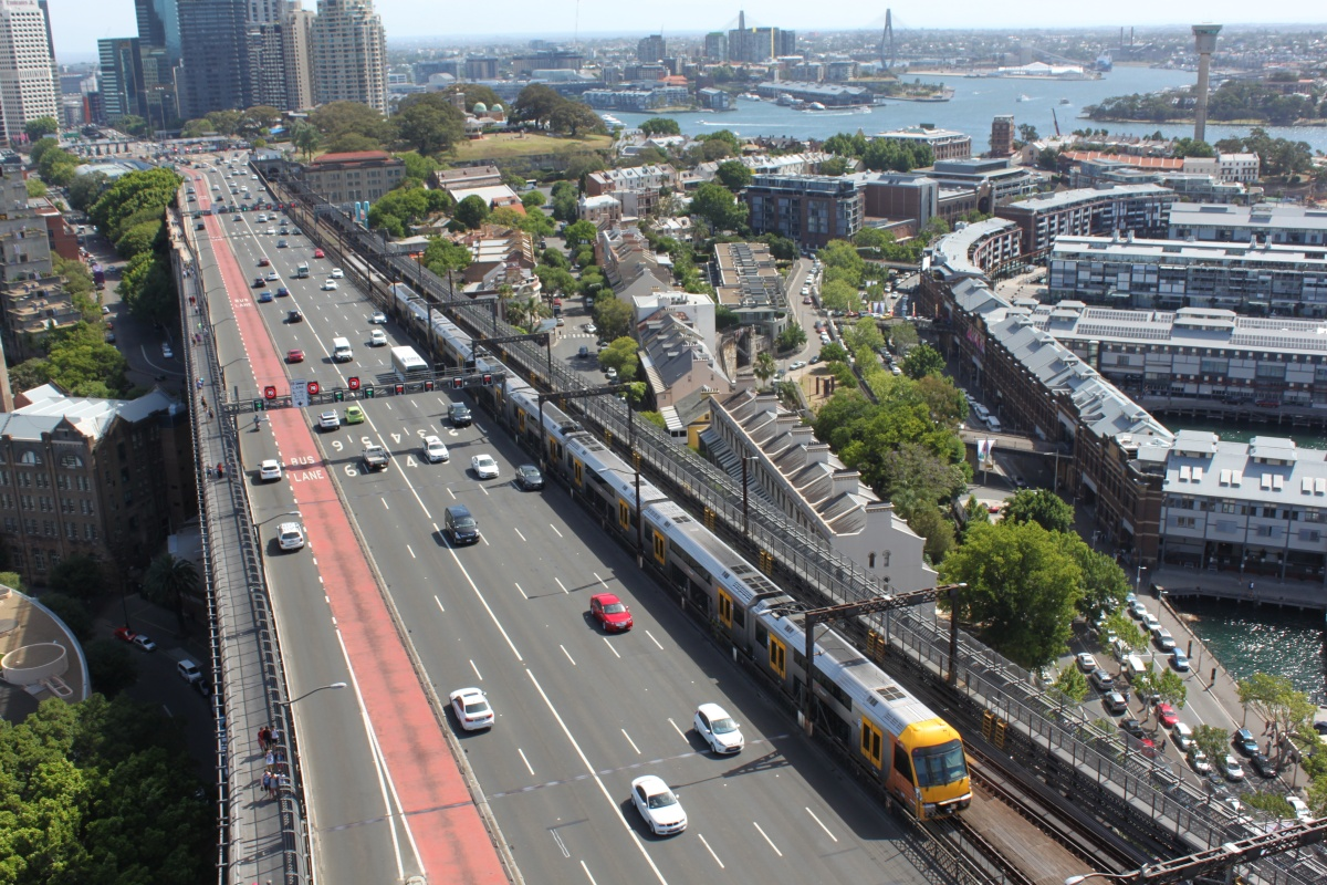 The contactless payment system has been rolled out to Sydney's rail network