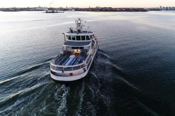 Remotely piloted ferry trialled in Helsinki