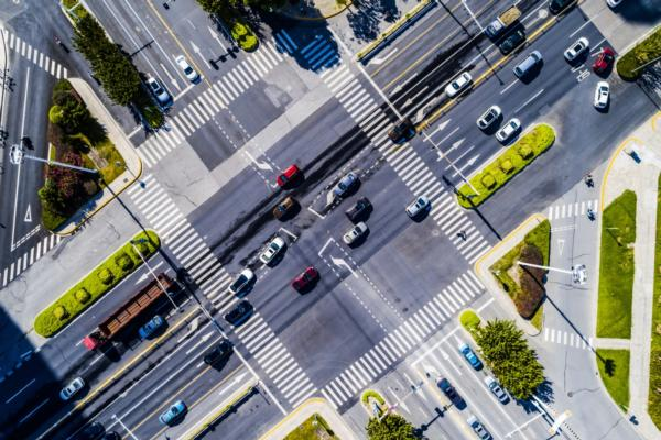 Intersection movement data available in 15-minute day parts for US and Canada