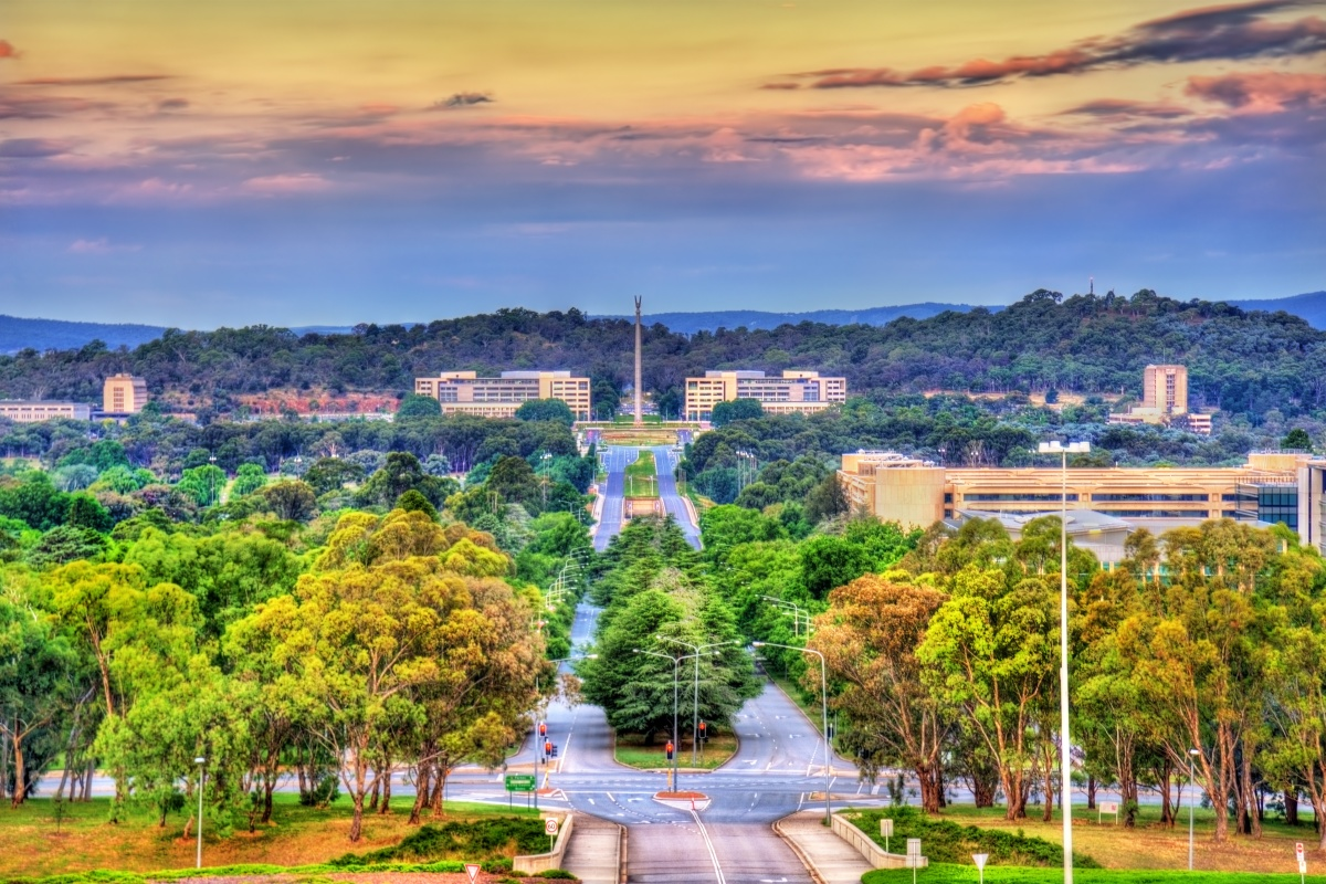 The lighting project contributes to Canberra's efforts to become a smart city