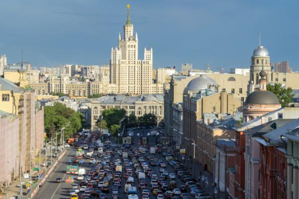 Moscow is world's most gridlocked city