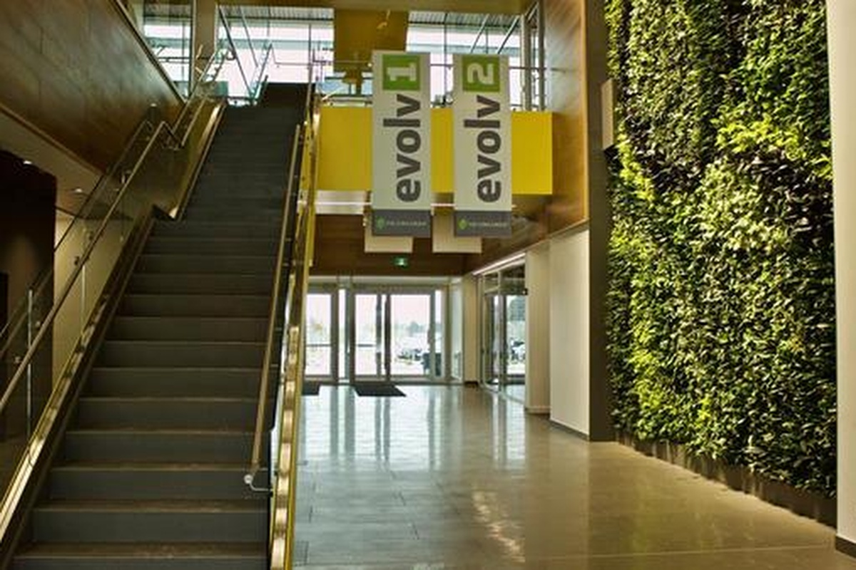 Canada's first sustainable multi-tenant building targeting net positive energy