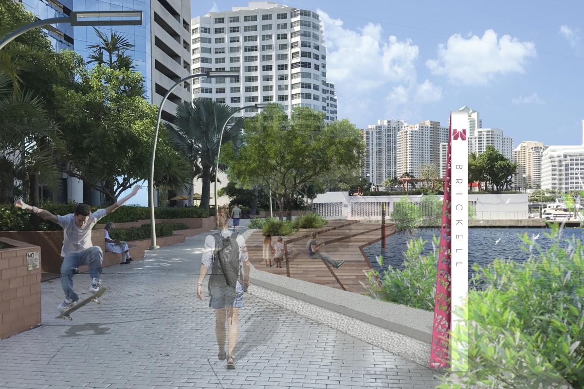 Recommendations include creating a living shoreline. Picture courtesy: Savino & Miller Design Studio