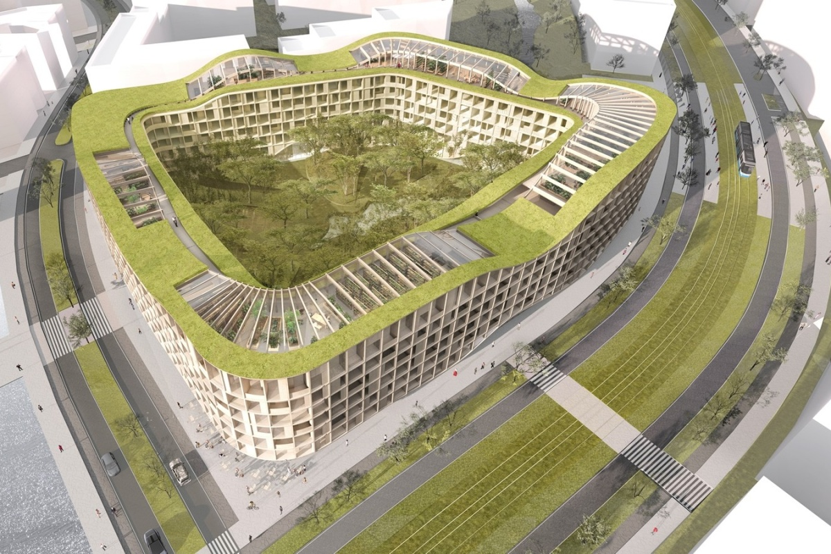 Lifandi Landslag, which will be a zero-carbon living landscape in Reykjavik