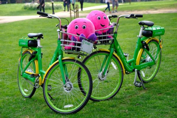 Lime and Octopus team for a greener London