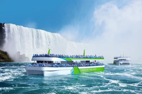 Niagara's Maid of the Mist goes electric