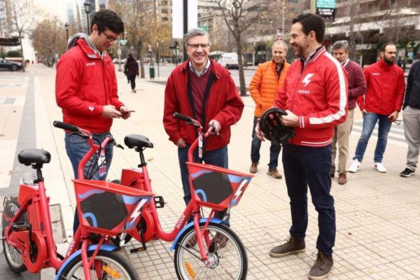 Scoot e-bikes come to Santiago