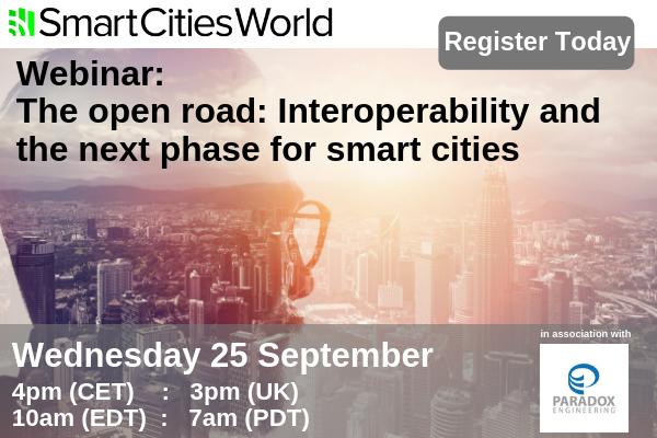 OnDemand WEBINAR: The open road – A smart city is an interoperable city