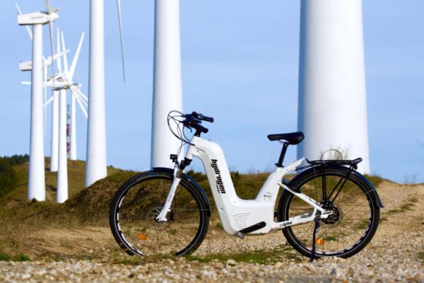 Energy boost for hydrogen bike