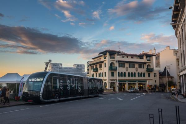 E-bus rapid transit line opens in the Basque country