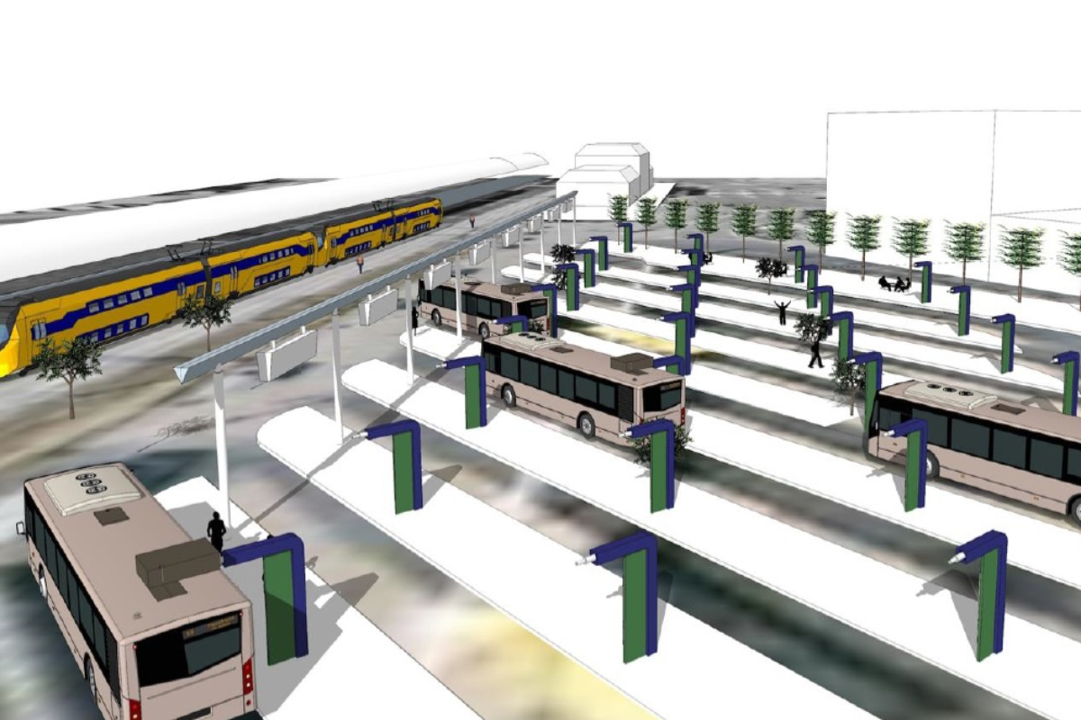 The buses will serve 53 stations in the east and central areas of the Netherlands