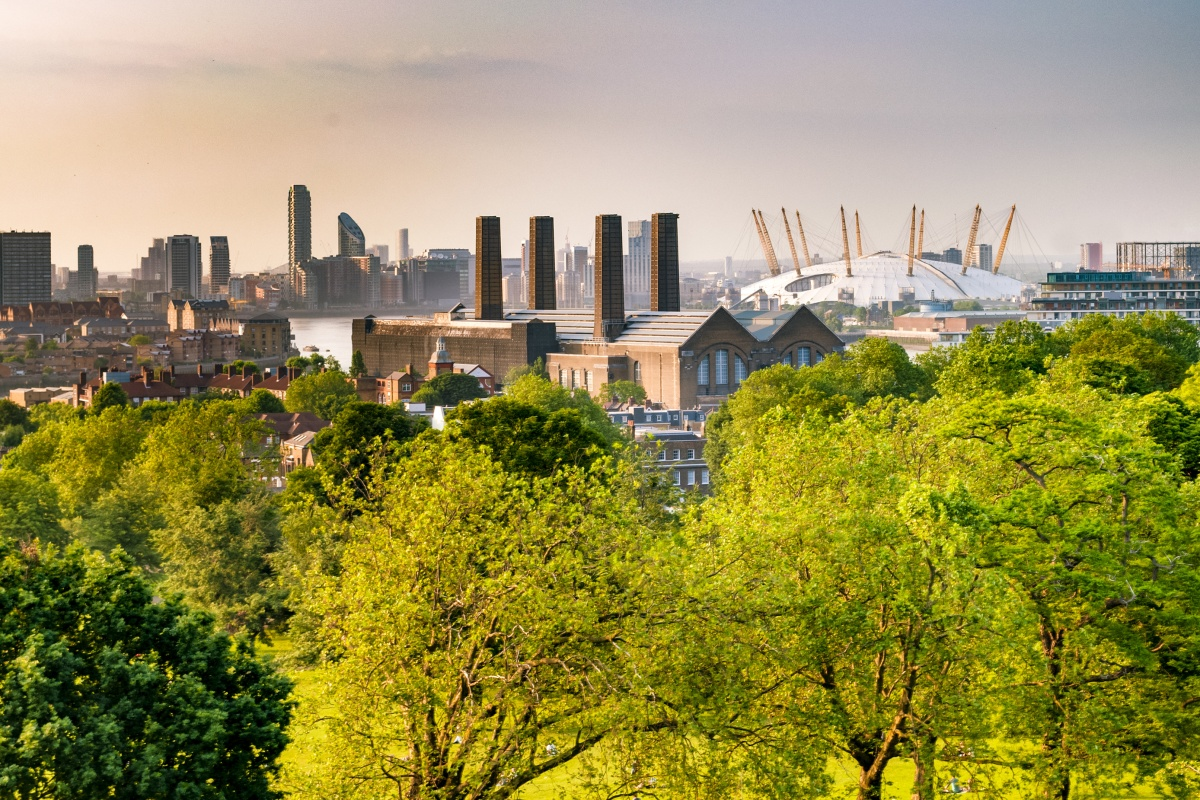 The award is in recognition of London's open spaces, waterways and natural environment