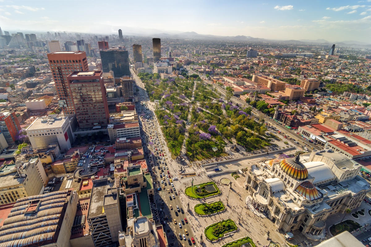 Mexico City (above) and Guadalajara are committed to being smarter and more inclusive