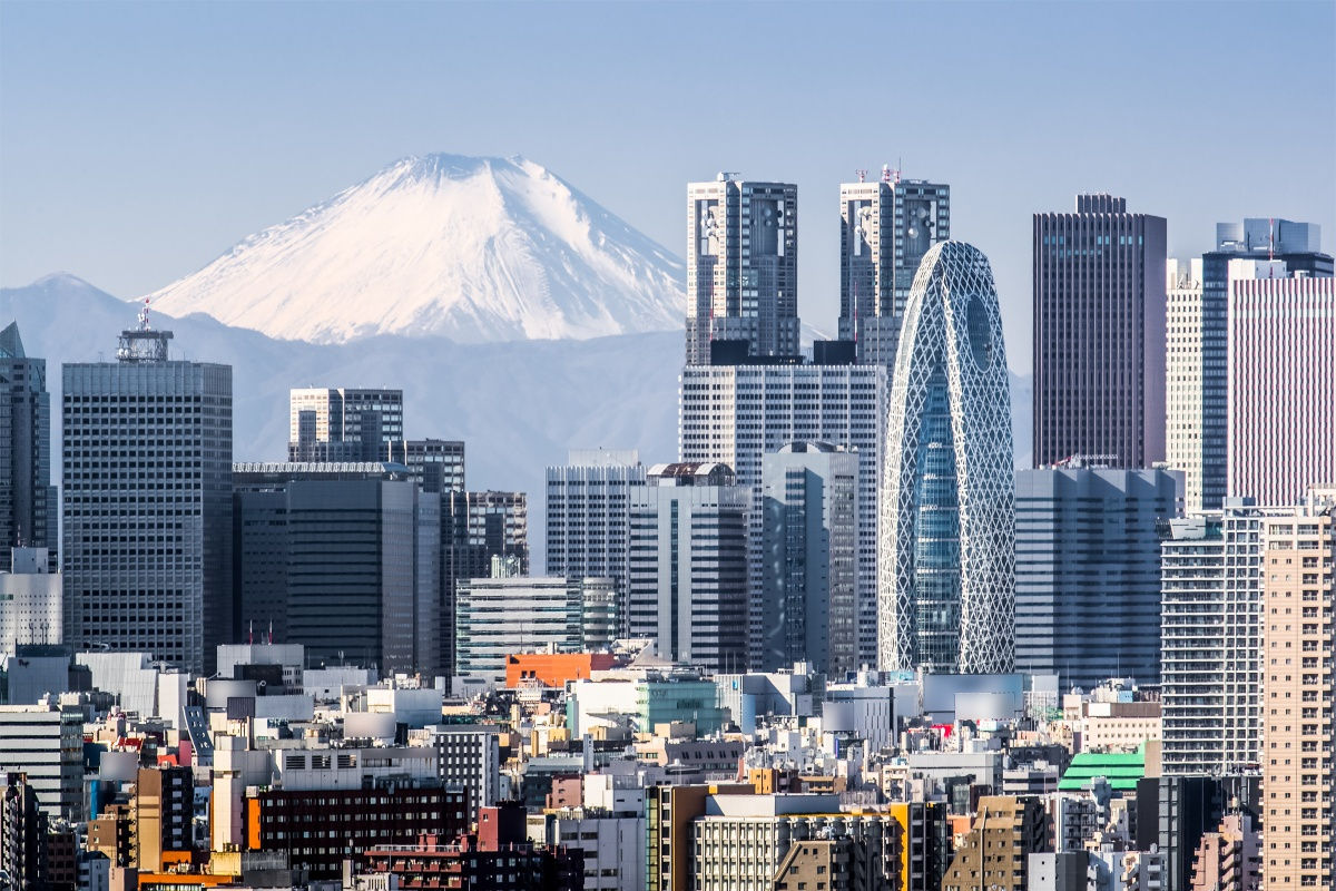 Tokyo is top for digital security and appears in the top five for all four pillars