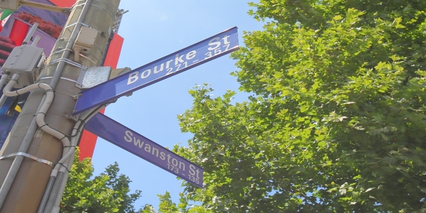 Beacons aid access to Melbourne's business district for those with low vision