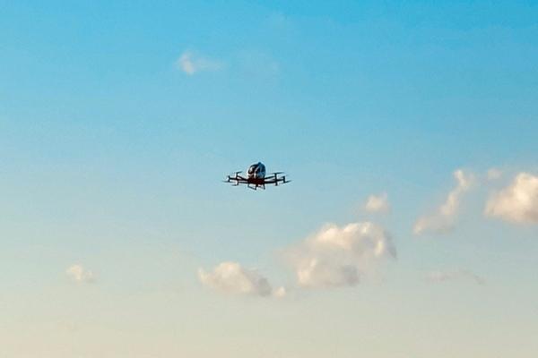 Pilotless air taxi trial flight conducted over North Carolina