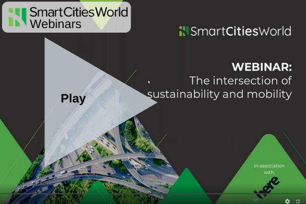 Webinar: The intersection of sustainability and mobility - Recorded Version OnDemand