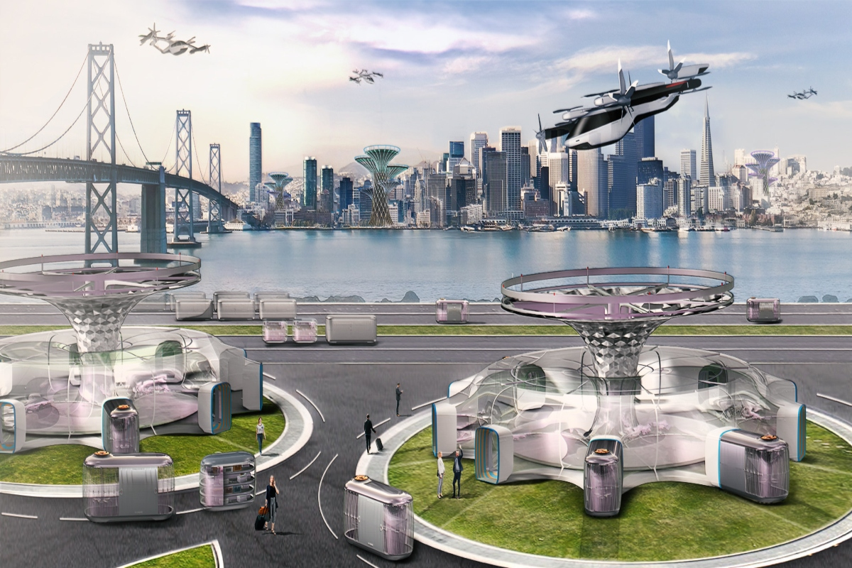 Hyundai's future vision for transportation in cities