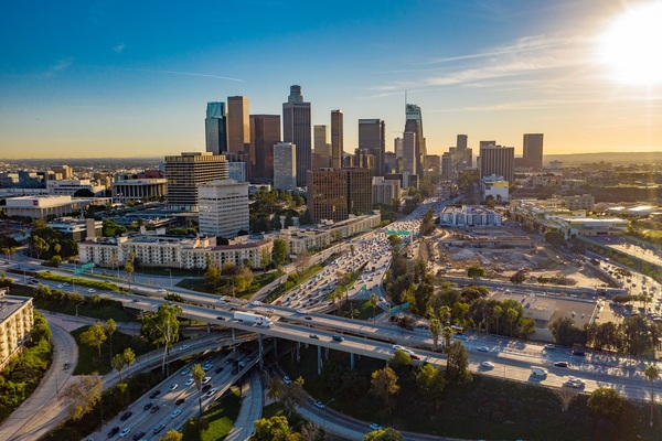 Los Angeles announces 'decade of action' to combat climate crisis