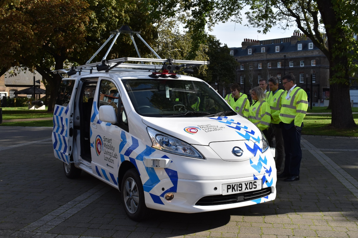 The 5G technology will be used at London's advanced CAV testbed