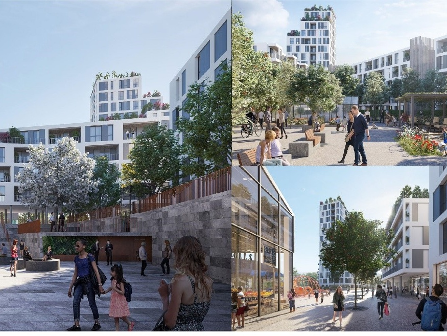 Innesto project, Milan, a zero-carbon affordable housing project Planet Smart City is involved in.