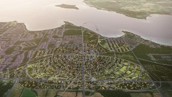 The Orbit high-tech development aims to reimagine rural living in Canada
