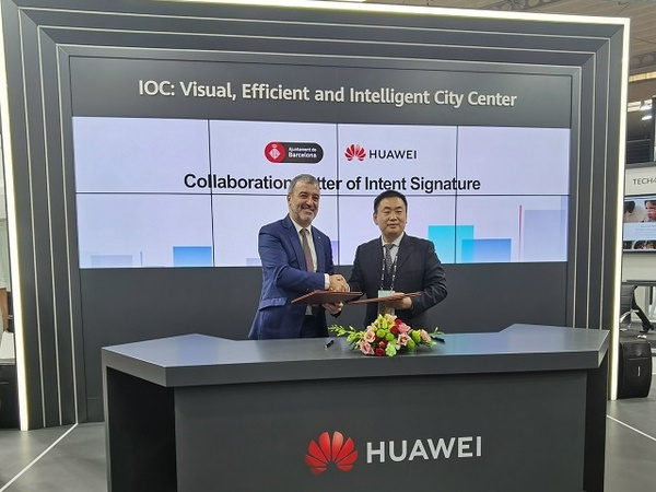 Huawei seals smart city deal with Barcelona