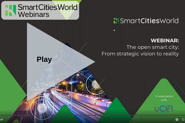 WEBINAR: The open smart city: From strategic vision to reality - Recorded Version OnDemand