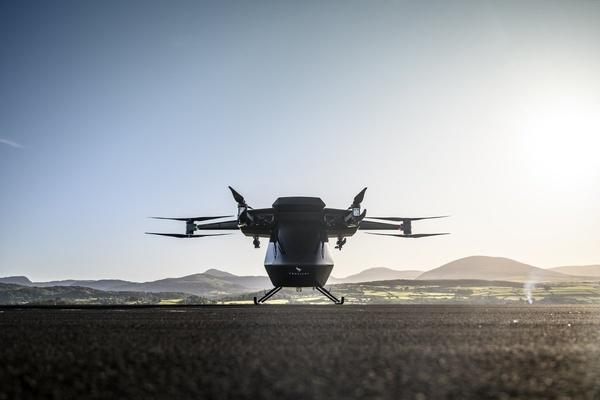 Vertical Aerospace test-flies electric air taxi