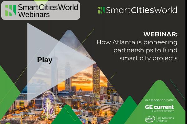 OnDemand WEBINAR: How Atlanta is pioneering partnerships to fund smart city projects