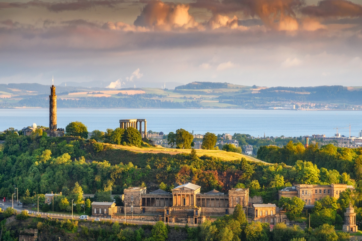 The Scottish capital of Edinburgh has committed to becoming carbon neutral by 2030