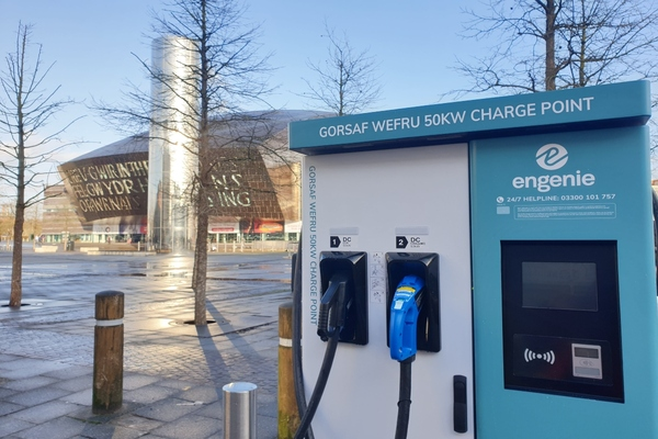 Engenie begins roll-out of EV chargers in Cardiff