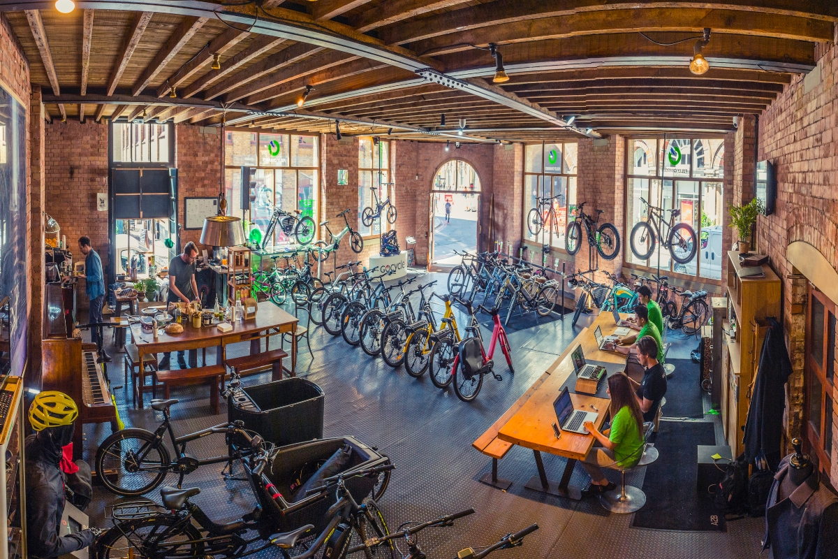 Fully Charged will offer the e-bikes on a free three-month loan