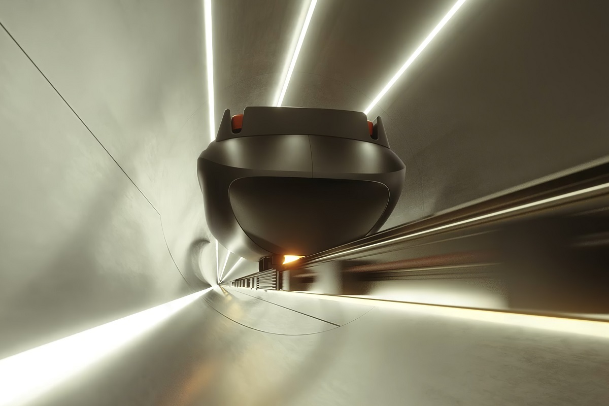 Hyperloop package delivery system raises £1 million