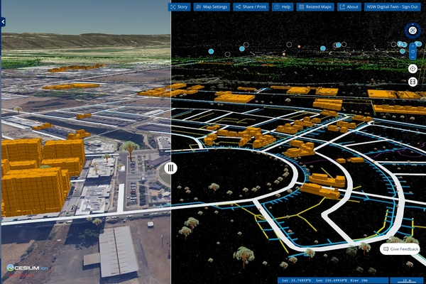 New South Wales government launches digital twin
