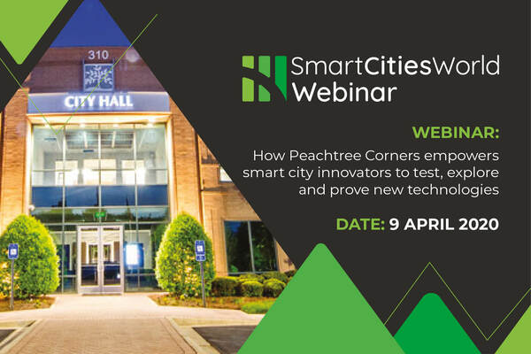 OnDemand WEBINAR: How Peachtree Corners empowers smart city innovators to test, explore and prove new technologies