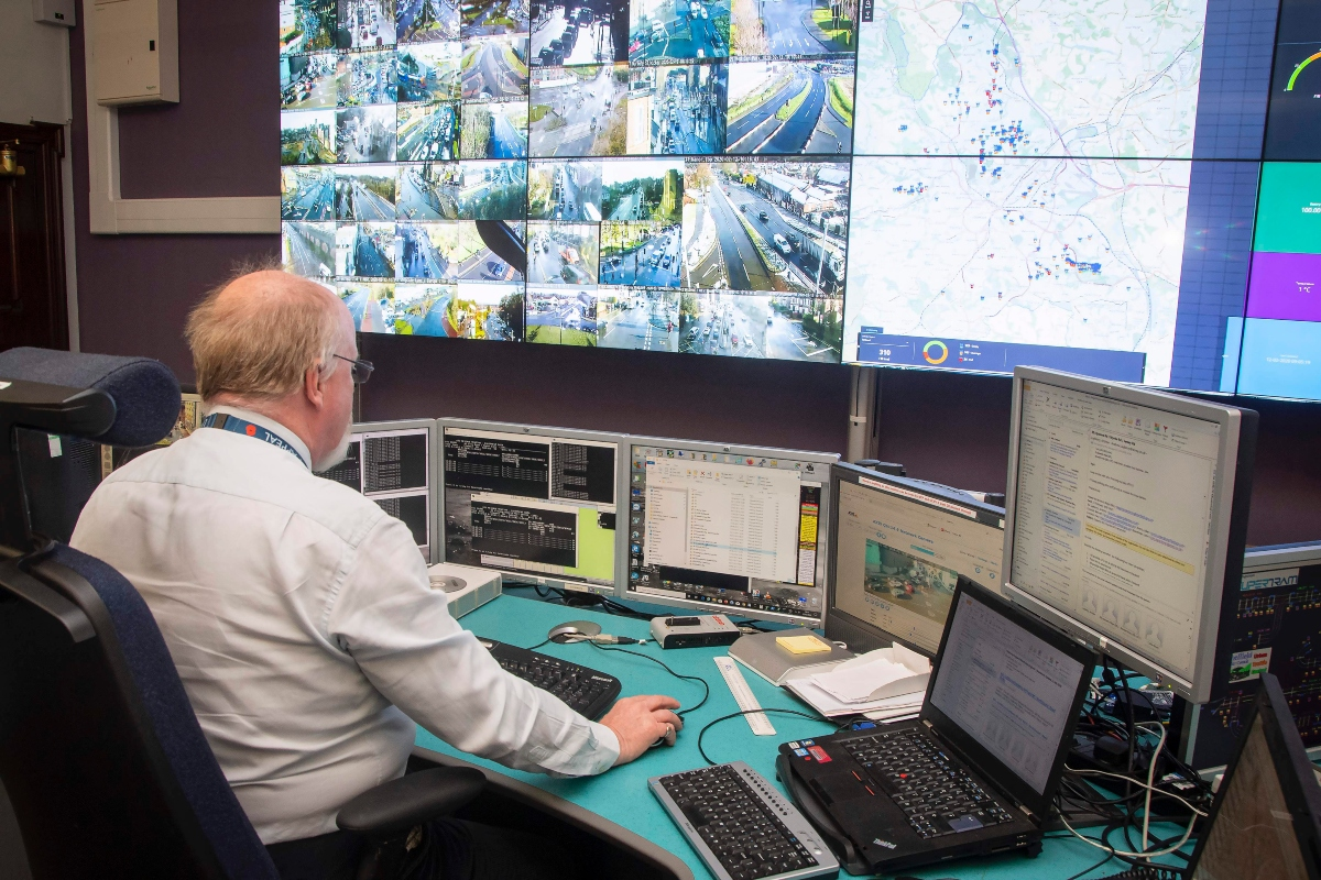 The Sheffield dashboard which will help alert city authorities when issues arise