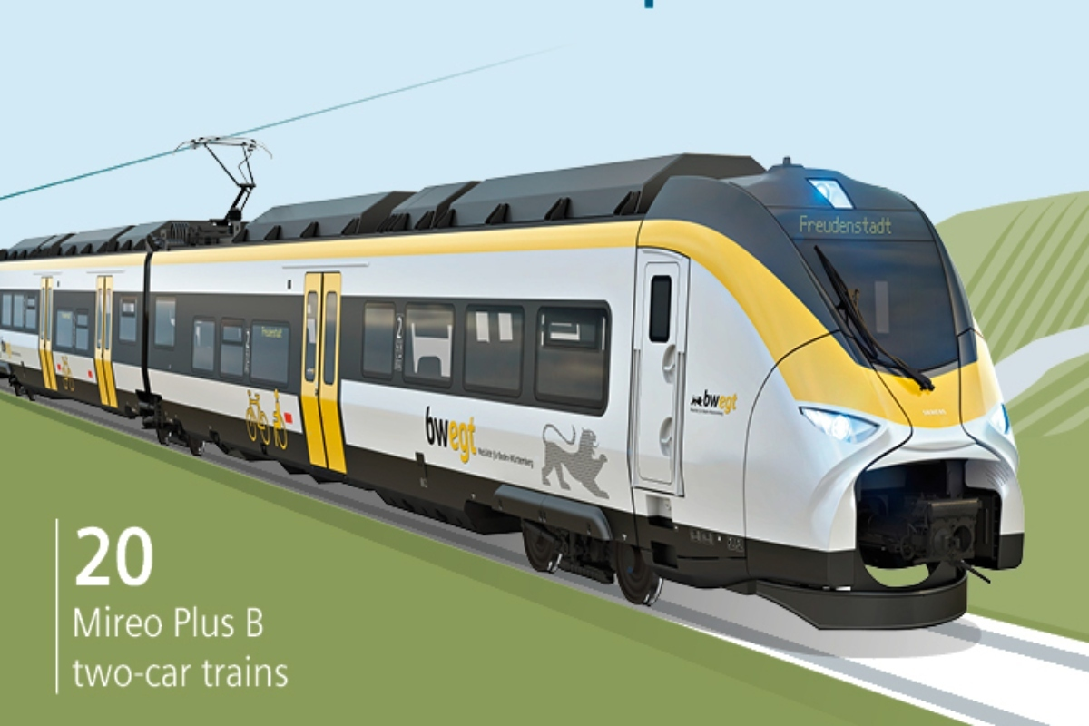 Delivery of the battery-powered trains is expected by December 2023