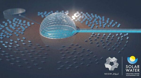 Saudi Neom megacity plans world-first 'solar dome' desalination plant