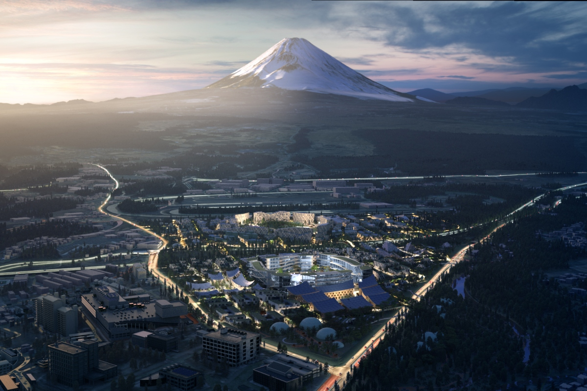 Toyota Woven City is scheduled to be built at the base of Mount Fuji in 2021